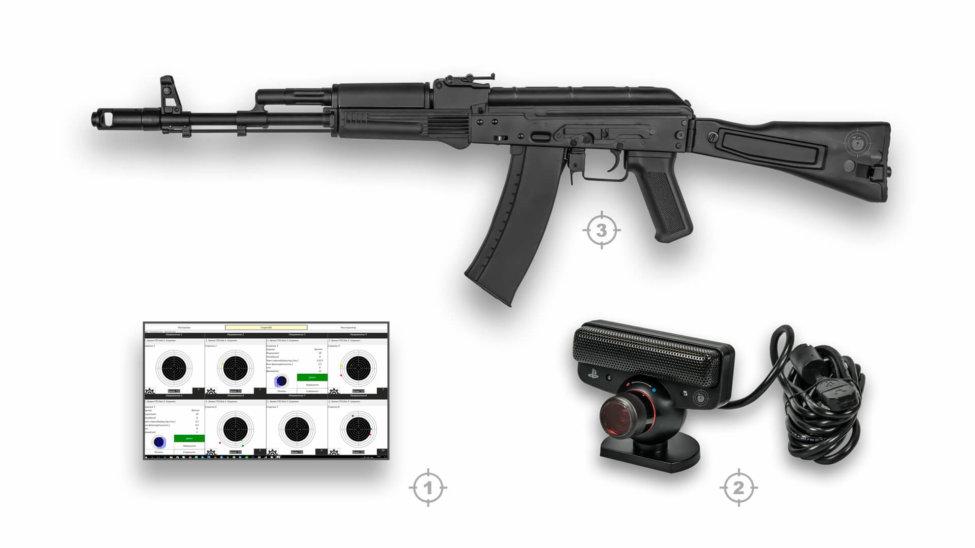 Лазерный тир электронный ⋆ТИР ЭЛЕКТРОН⋆ комплект 6